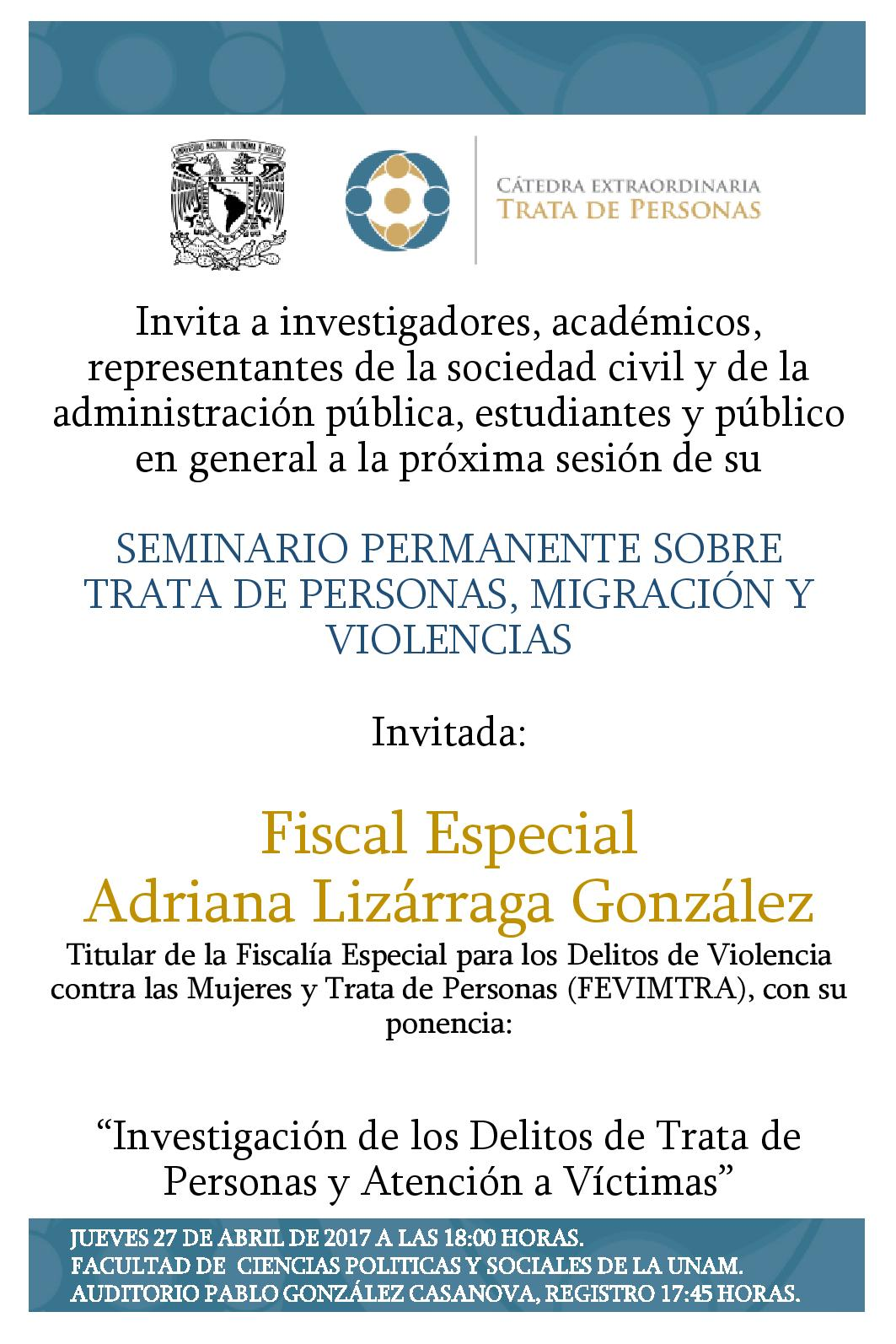 Poster Seminario 30 de marzo 2017 VERSION GACETA