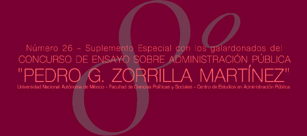 Suplemento 8° Concurso Pedro G. Zorrilla Martínez