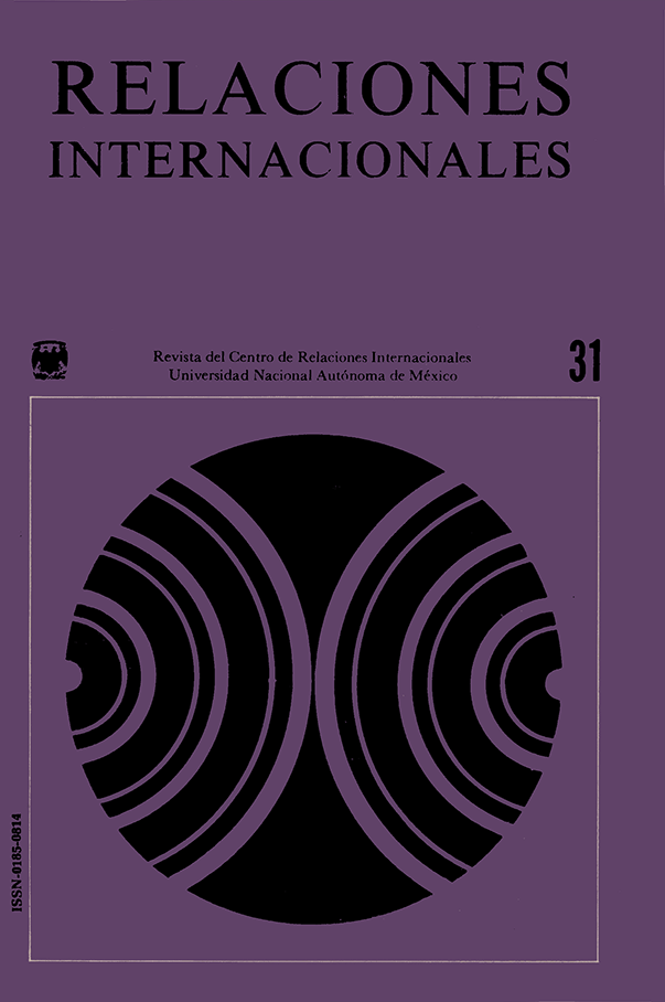 El Estudio Científico de la Realidad Internacional. II Coloquio Internacional de Primavera, UNAM