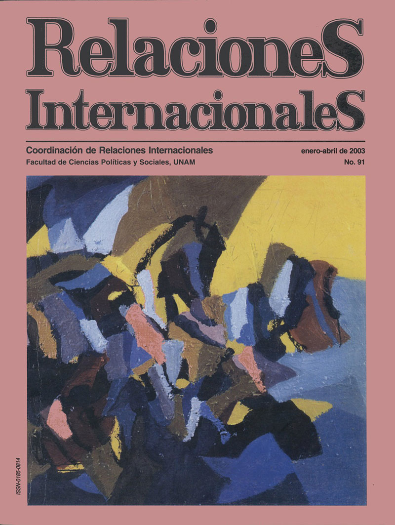 Cooperación y conflicto en las Américas. Seguridad hemisférica: un largo y sinuoso camino, de Ma. Cristina Rosas (coord.)
