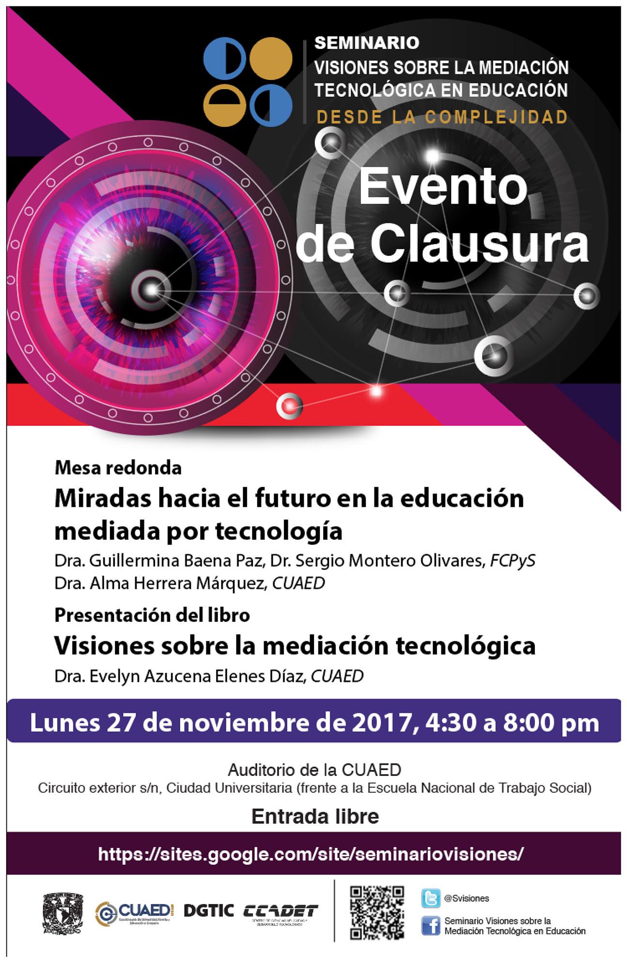 Mesa Redonda, Miradas hacia el futuro en la educación mediada por tecnología