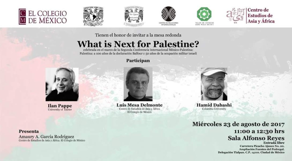What is Next for Palestine? 23 de agosto de 2017.