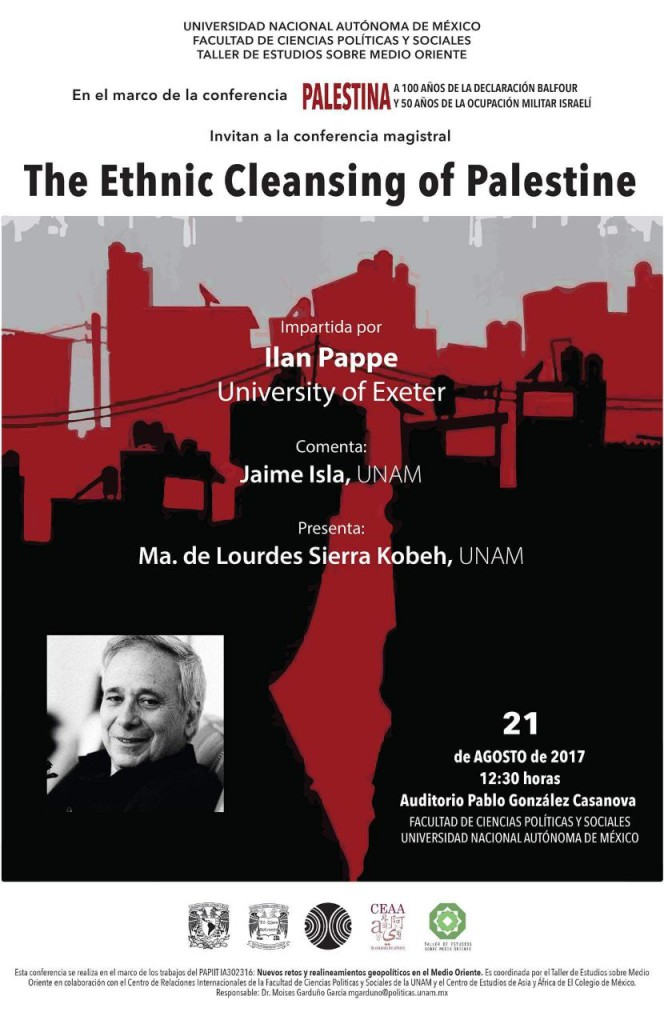 The Ethnic Cleansing of Palestine. 21 de agosto de 2017.