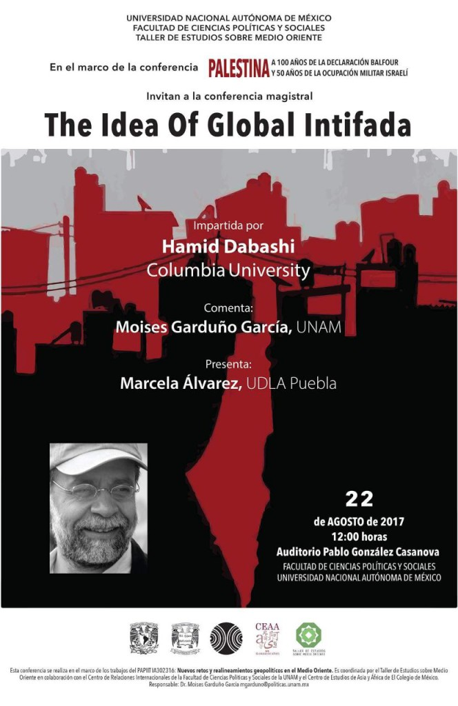 The Idea of Global Intifada. 22 de agosto de 2017.